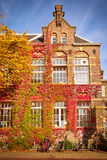 Traditional building in Amsterdam Royalty Free Stock Photos