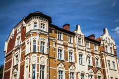 Traditional building architecture in Poland Stock Images