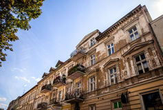 Traditional building architecture in Poland Royalty Free Stock Photos