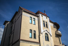 Traditional building architecture in Poland Stock Photo