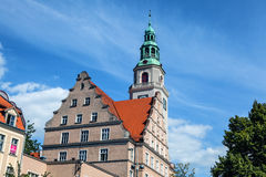 Traditional building architecture in Poland Royalty Free Stock Photography