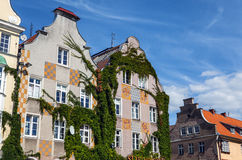 Traditional building architecture in Poland Royalty Free Stock Photo