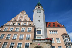 Traditional building architecture in Poland Stock Image