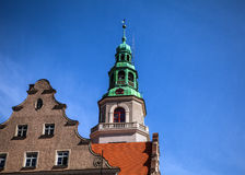Traditional building architecture in Poland Stock Photography