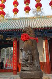 Traditional building at  Guan Yu Temple Royalty Free Stock Photo