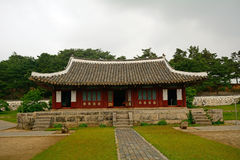 Traditional building, Kaesong, North-Korea Royalty Free Stock Images