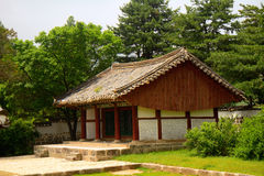 Traditional building, Kaesong, North-Korea Stock Photography