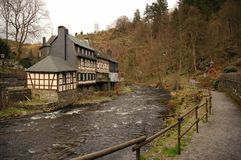 Traditional building Monschau Stock Photography