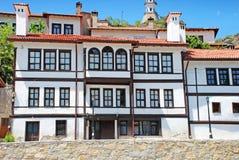 Traditional Building. Old Traditional Building from Goynuk, Turkey Royalty Free Stock Photo