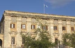 Traditional building at Rhodes Stock Image