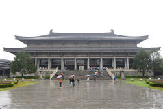 Traditional  building of shannxi museum Royalty Free Stock Photos
