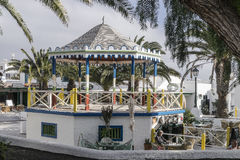 Traditional building in Teguise Stock Photography