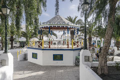 Traditional building in Teguise Royalty Free Stock Image