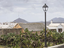 Traditional building in Teguise Royalty Free Stock Images