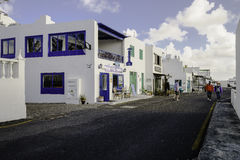 Traditional building in Teguise Royalty Free Stock Photography