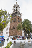 Traditional building in Teguise Stock Image