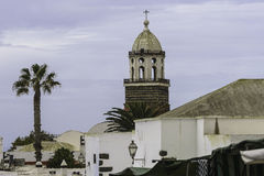 Traditional building in Teguise Royalty Free Stock Photo