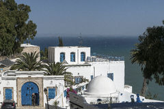 Traditional building in Tunis Royalty Free Stock Photos