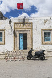 Traditional building in Tunis Stock Photo
