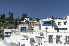 Traditional building in Tunis Royalty Free Stock Image