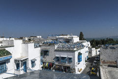 Traditional building in Tunis Stock Image