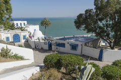 Traditional building in Tunis Stock Photos