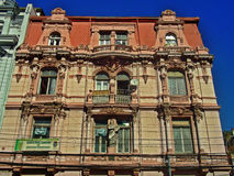 Traditional building in Valparaiso, Chile Royalty Free Stock Images