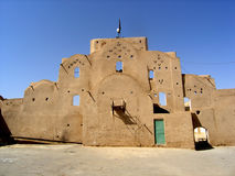 Traditional building in Yazd Royalty Free Stock Photos