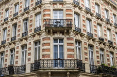 Traditional buildings in Bordeaux city center Stock Images