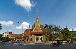 Traditional buildings , Cambodia stock images