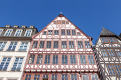 Traditional buildings in Frankfurt Royalty Free Stock Image
