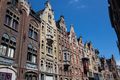 Traditional Buildings in Gent. Image showing traditional buildings in the city center of Gent, Belgium Royalty Free Stock Photo