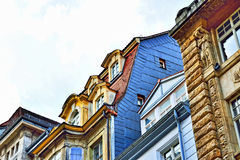 Traditional buildings in Leipzig, Germany Royalty Free Stock Photography