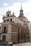 Traditional buildings in Toledo stock images