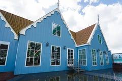 Traditional buildings of Zaandam, Netherlands Royalty Free Stock Photo