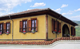 Traditional bulgarian architecture Royalty Free Stock Photos