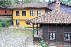 Traditional bulgarian architecture Stock Images