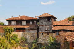 Traditional bulgarian architecture Stock Photo