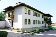 Traditional Bulgarian Building. Guest house building in Klisurski monastery. Close to Sofia, Bulgaria Royalty Free Stock Images