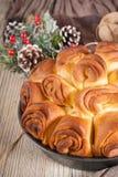 Traditional Bulgarian Christmas Pita Bread royalty free stock photography