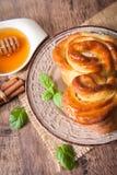 Traditional Bulgarian Christmas Pita Bread royalty free stock image