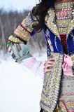 Traditional Bulgarian costume Royalty Free Stock Photo