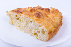 Traditional bulgarian food banitsa stuffed with cheese Royalty Free Stock Images