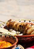 Traditional bulgarian grilled meet dish Royalty Free Stock Photography