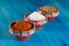 Traditional Bulgarian Herbs and Spices Royalty Free Stock Photos