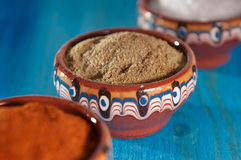 Traditional Bulgarian Herbs and Spices Stock Image