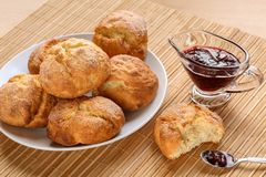Traditional bulgarian home made cookies called Royalty Free Stock Photography