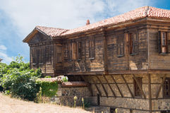 Traditional bulgarian house Royalty Free Stock Photography