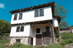 Traditional Bulgarian house in Bozhentsi Stock Photos