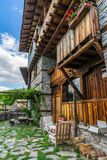 Traditional Bulgarian House In Rhodope Mountain Stock Images